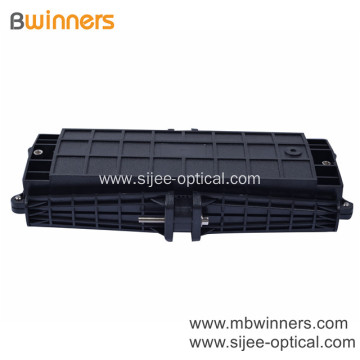 Horizontal Type Fiber Optic Splice Closure With 3 Inlets/Outlets Up To 96 Cores