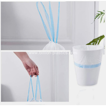 Drawstring Plastic Bag for House