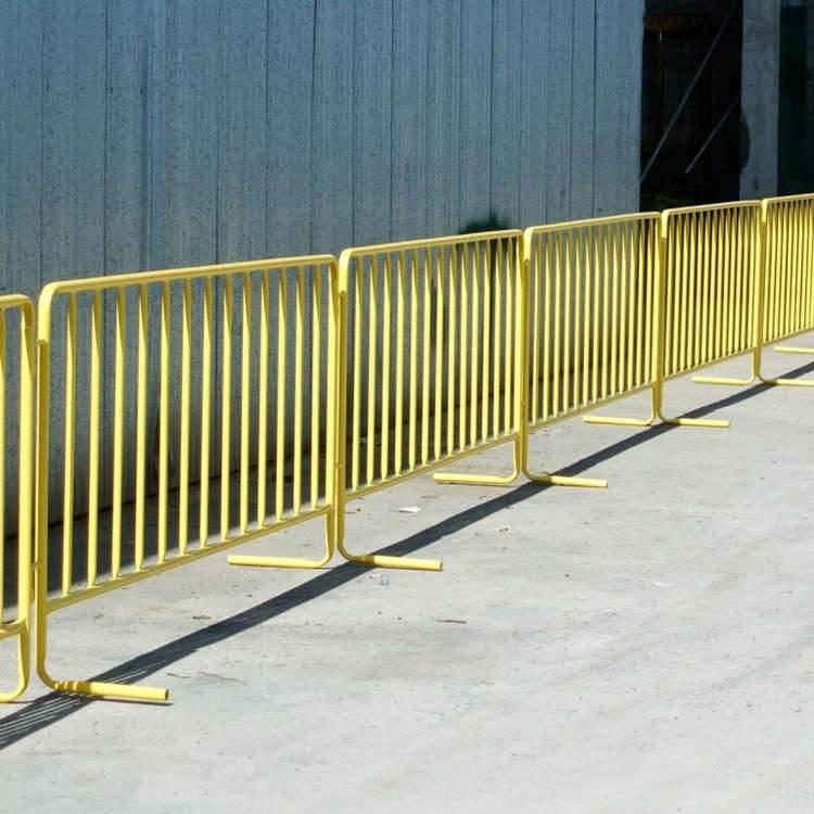 The industry standard for crowd control barriers