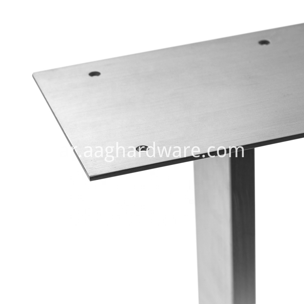Stainless Steel Dinning Table Legs For Wood 3