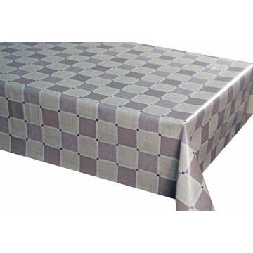 Pvc Printed fitted table covers Geometric