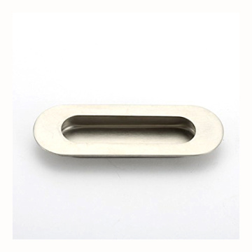 Oval Concealed Flush Handle for Sliding Pocket Door