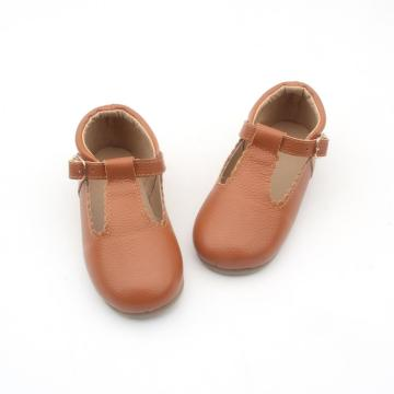 Wholesale Leather Girls Designs Leather Baby Dress Shoes
