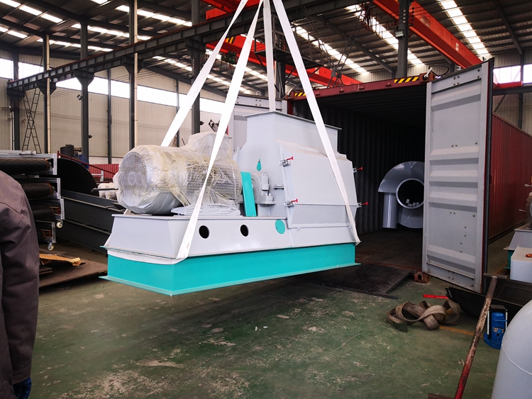 Installation of Rice Husk Granulator