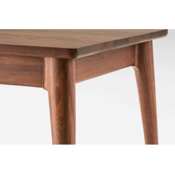 Bay-Max Americian Oak Walnut Solid Wooden Coffee Table