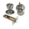 Security Cylindrical Door Handles Tubular Knob Lock Set