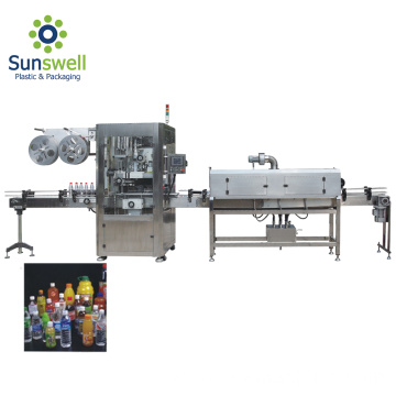 Automated Bottling Labeling Machine