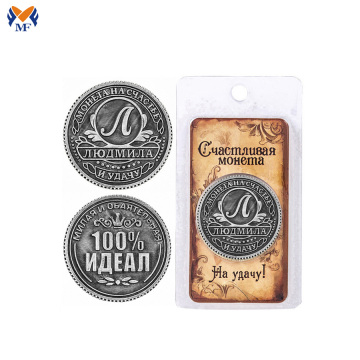 Silver plating metal electroplating coins with bag