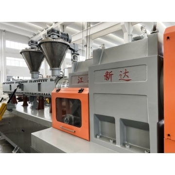 Xinda Semi Conductive Compounding Extruder Pelletizing Line