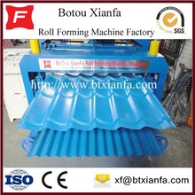 Steel Sheet Metal Profile Roll Forming Machine
