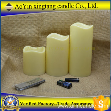 Paraffin Wax Led Candle with Remote Control