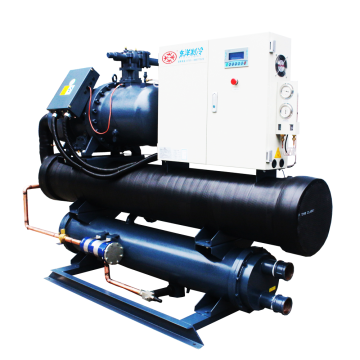 Professional industrial water cooled srew chiller