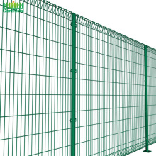 Welded Roll Top and Bottom BRC Security Fence