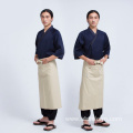 Cook's uniform izakaya Fukuya Teppanyaki traditional chef uniform 100% Cotton pattern