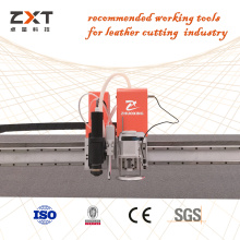 High Speed Leather Cut Machine Cuts Out Pieces