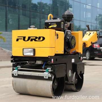 Factory supply manual operated mini road roller compactor FYL-800C