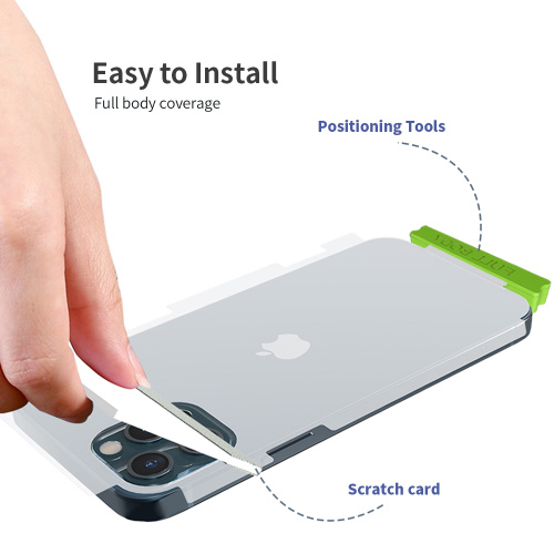 For iPhone 12 Double protection Screen Protector