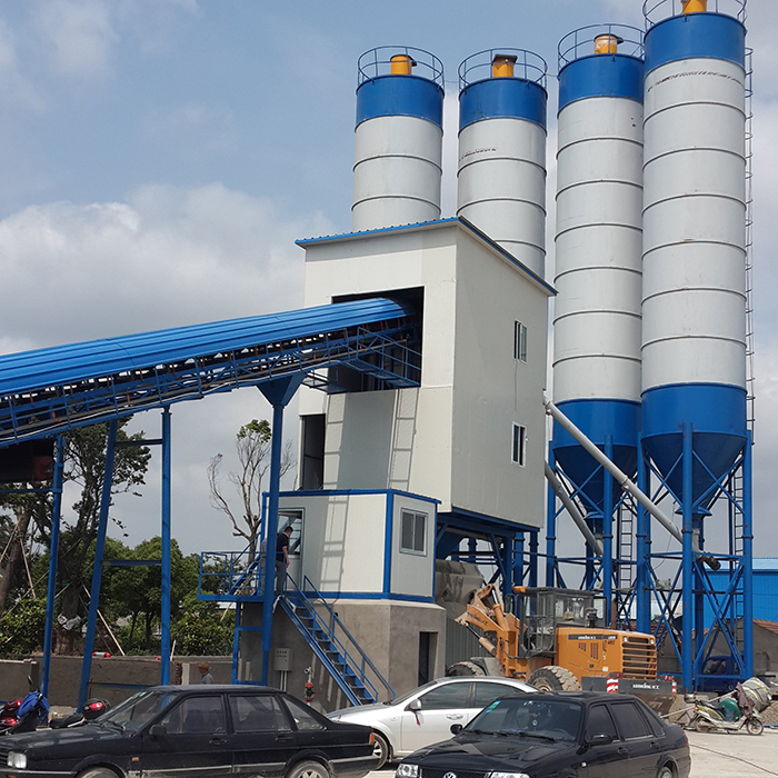 Mini 120m3h Concrete Batching Plant