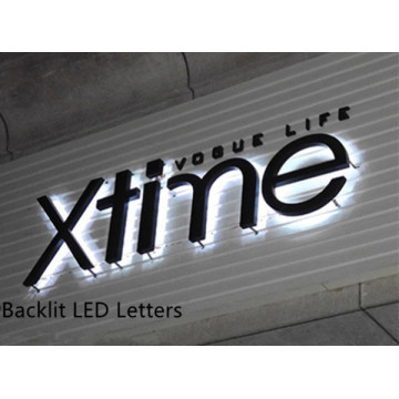Custom Logo LED Signs Laser Cut
