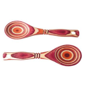 Long Handle No Wax Wood Spoon