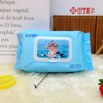 Soft Baby Sensitive Skin Disposable wipes OEM 80p