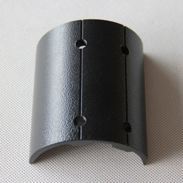 LED Bracket Sheet Metal Steel Black Powder Coating