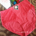 China OEM new style wholesale plus size sexy new melon red woman underwear 2813