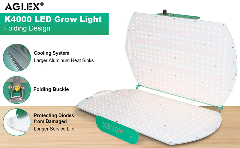 foldable grow lights