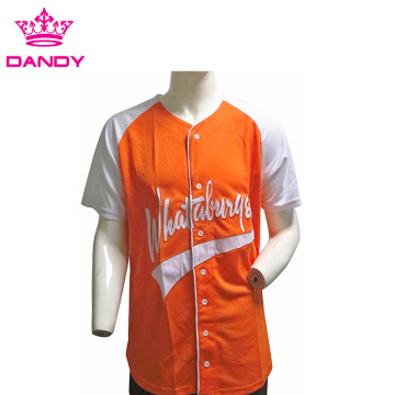 Orange cheer athletics baseball shirts