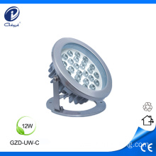 Stainless steel housing 12W led underwater light