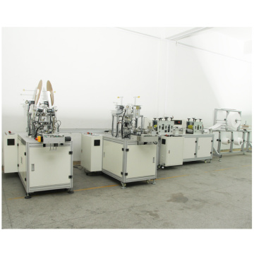 Semi-Automatic N95 Cup Mask Machine