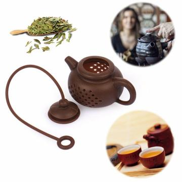 5 Styles Silicone Tea Strainer Strawberry Lemon Design Loose Tea Leaf Strainer Bag Herbal Spice Tea Infuser Filter Tools