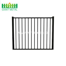 welded powder coated zinc steel fences