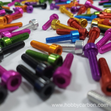 Super light hexagon socket head cap screws