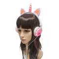 LX-UR107 Cuffie stereo Deluxe Unicorn Headphones Factory