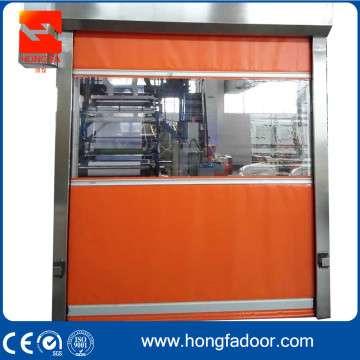 Opening Shutter PVC High Speed Door