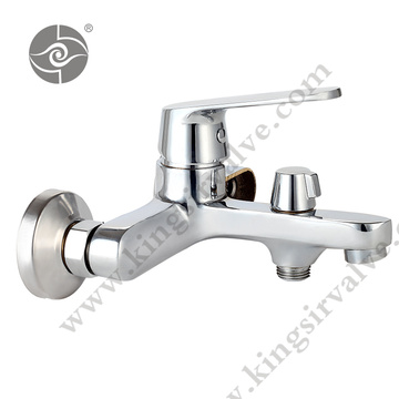 Zinc handle brass body Faucets