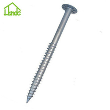 Q235 stell helical screw piles anchor for sale