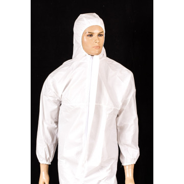 White /Bue/Yellow Color Protective Cloth /Coverall Gown