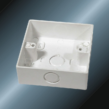 Conduit Upvc Square Box White Color