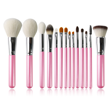 Pinceau de maquillage fille perle rose