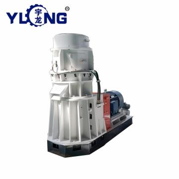 flat die wood pellet machine