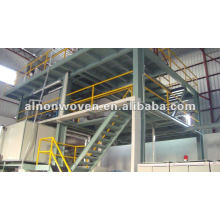 1600MM PP spunbond nonwoven fabric making machine single beam ( brand A.L)