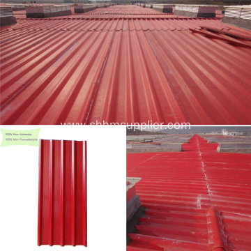 Glazed Corrugated MgO Roofing Sheets