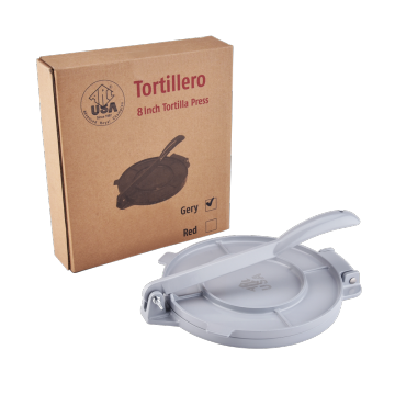 8 in Aluminum Foldable Tortilla Press Maker