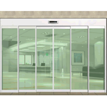 High quality automatic sliding door telescopic