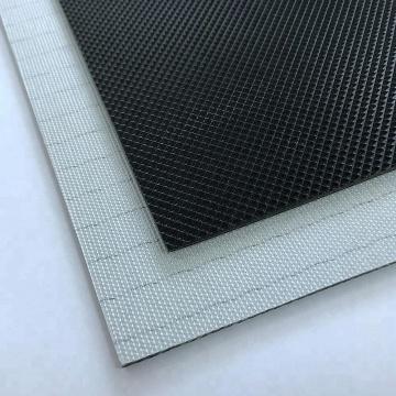 Wear Resisting 1.6mm black golf treadmill pvc conveyor belt