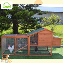 Big fir wood chicken coops with asphalt roof