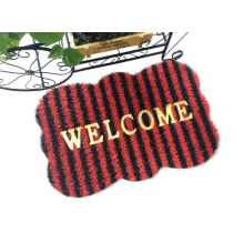 Fashion pvc coil door mat colorful