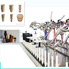 mall automatic spray painting machine line